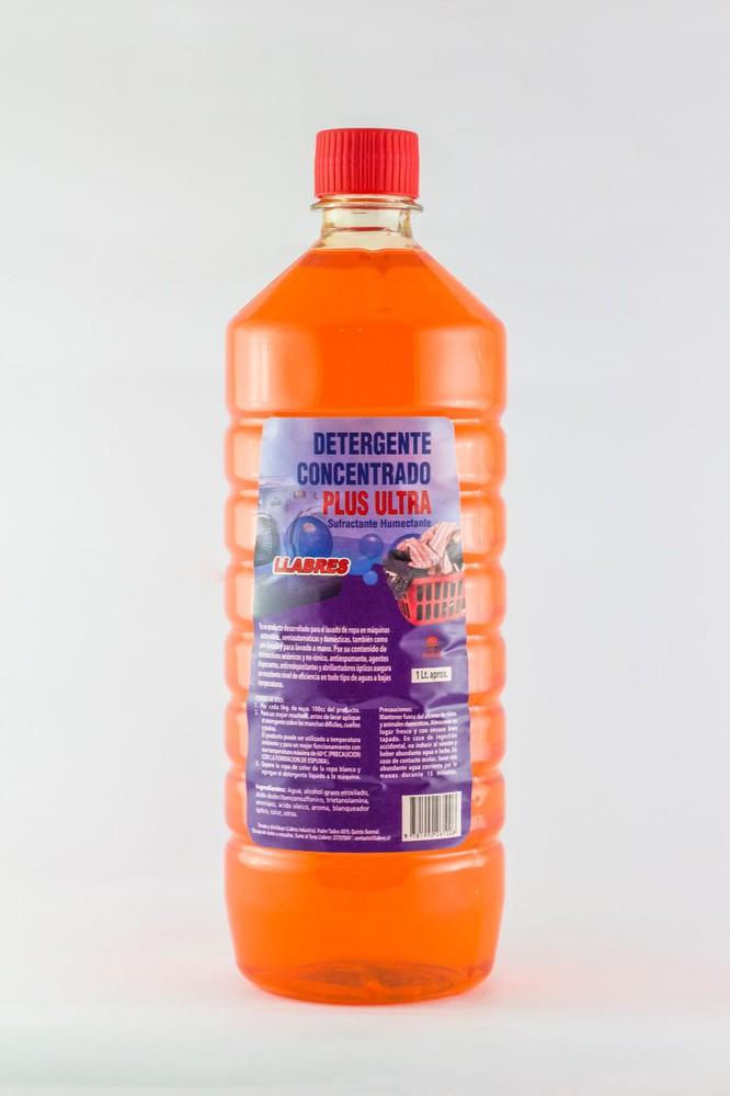 Detergente concentrado plus ultra 1 litro