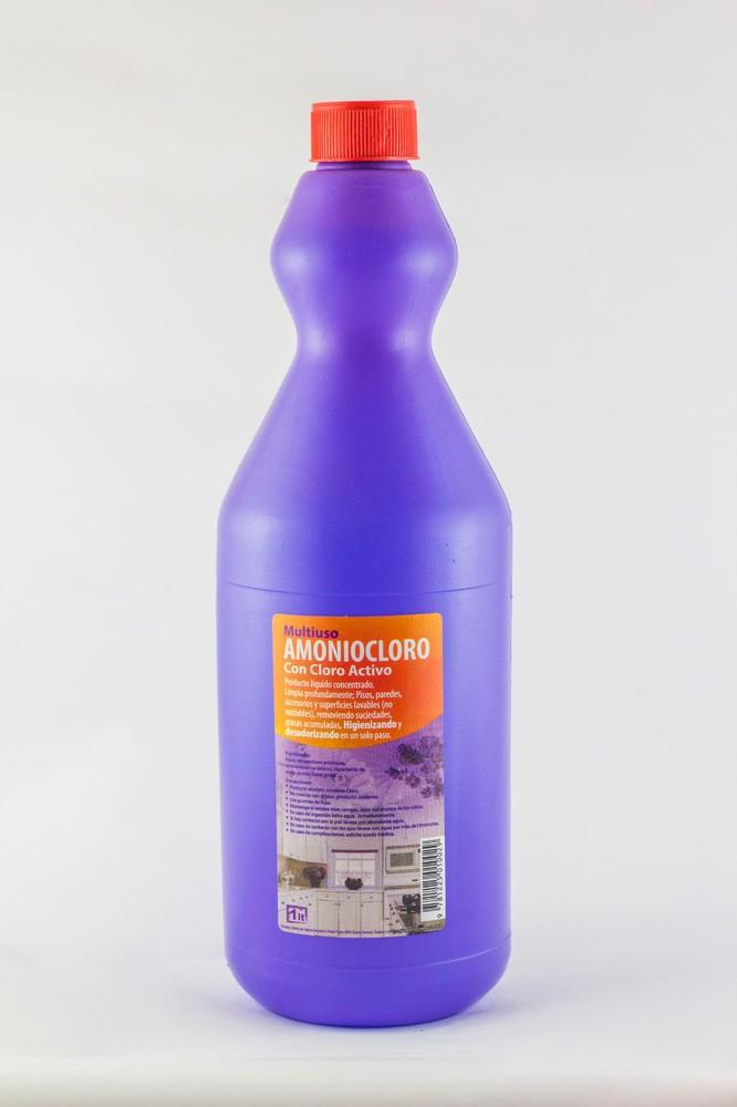 Amonia cloro multiuso 1 litro