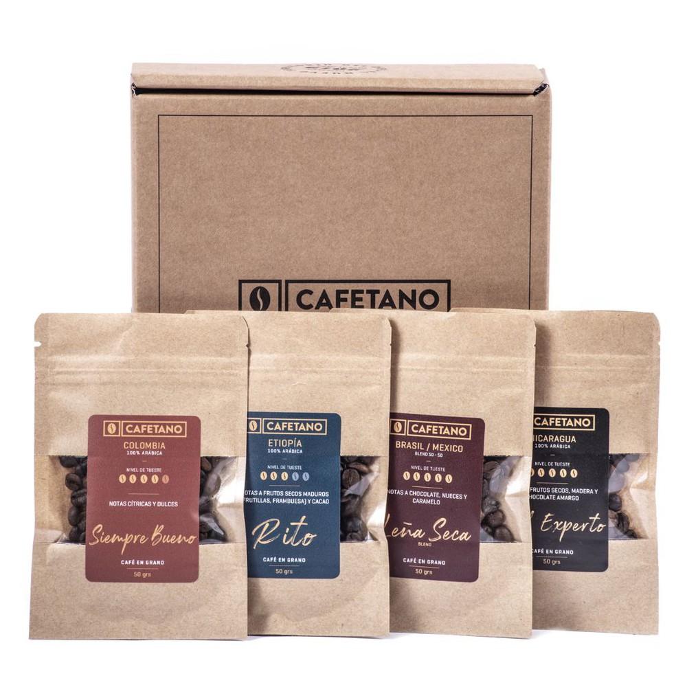 Café Tasting 4x50 grs Molido 4 bolsas de 50grs