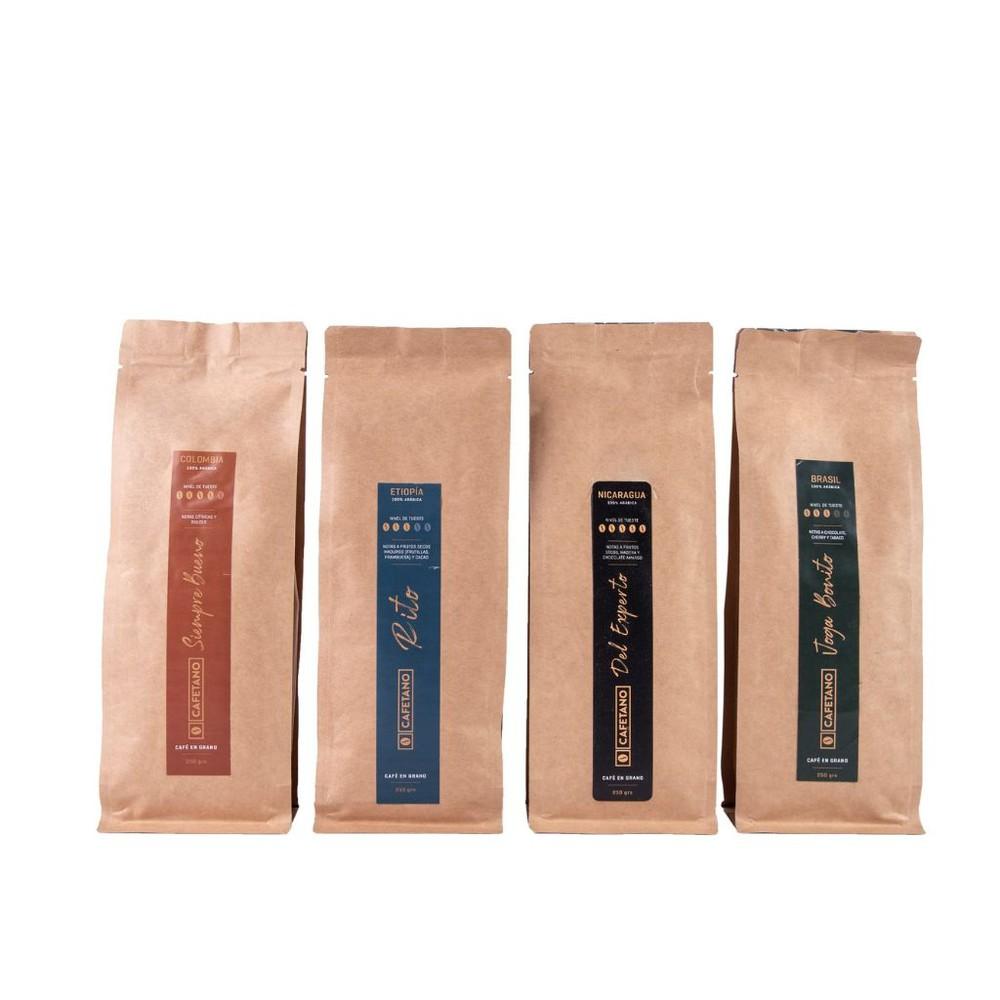 Café colección en grano 4 u x 250 g
