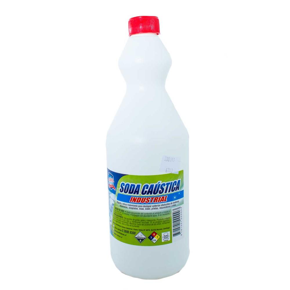 Soda caustica industrial 1 litro