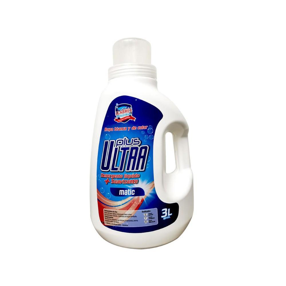 Detergente con suavizante plus ultra 3 LITROS