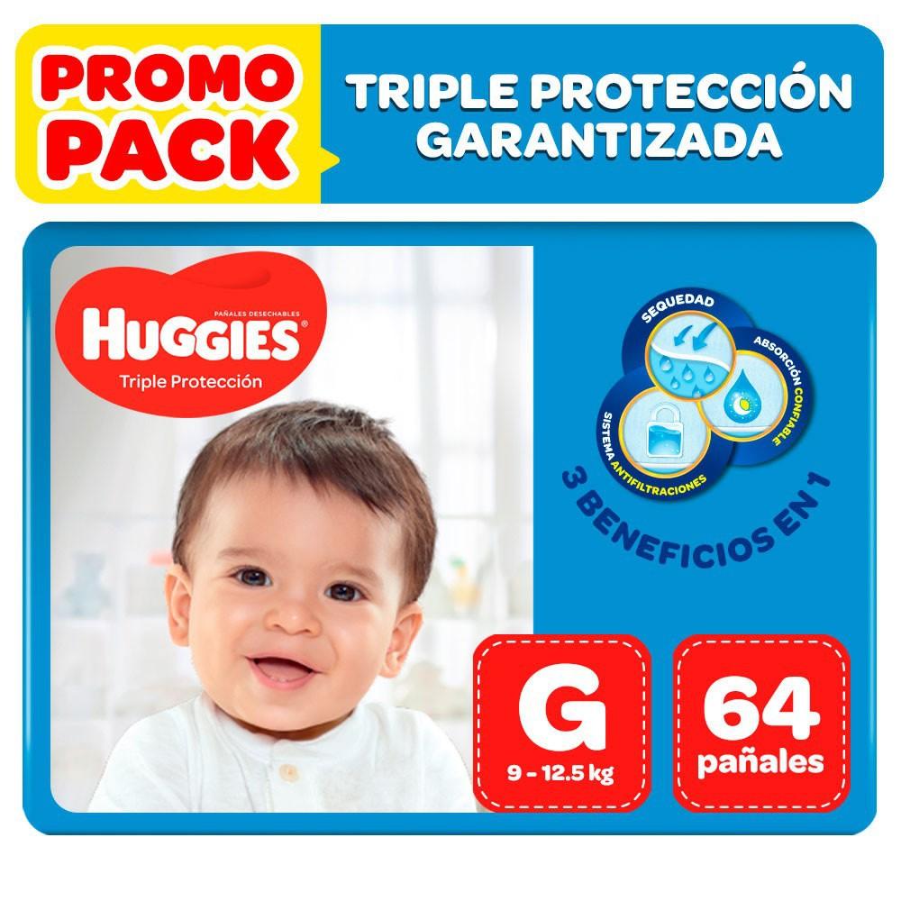 Pañales triple protección G