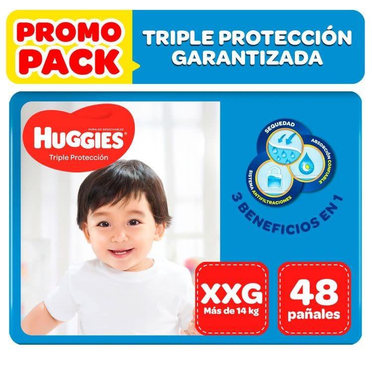 Pañales triple protección XXG