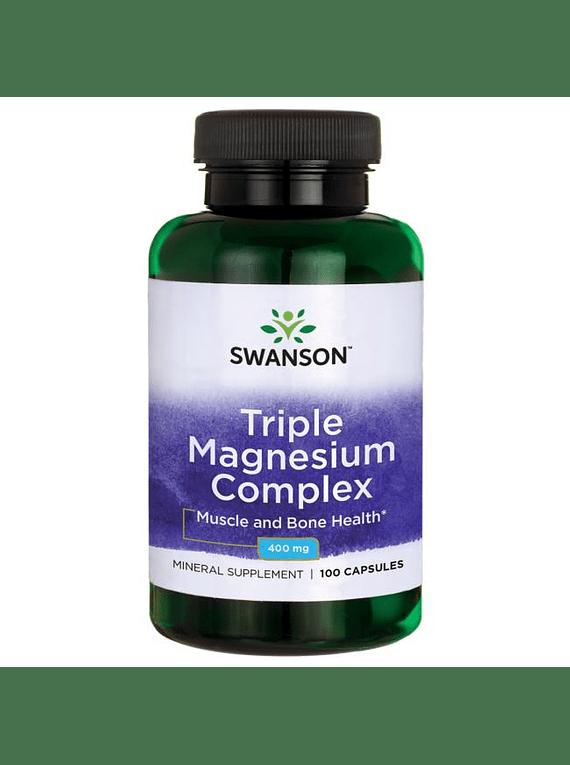 Triple magnesio 100 capsulas
