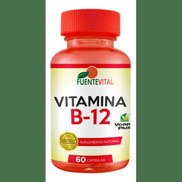 Vitamina b12 553mg 60 cápsulas