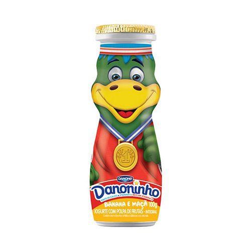 Iogurte líquido banana e maçã Danoninho
