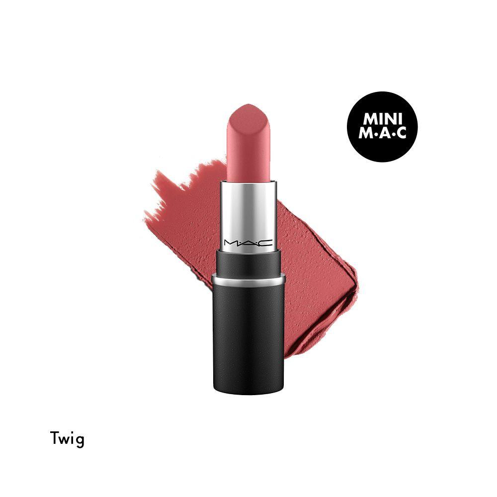 Mini M·A·C traditional lipstick tono twig 1.8 g