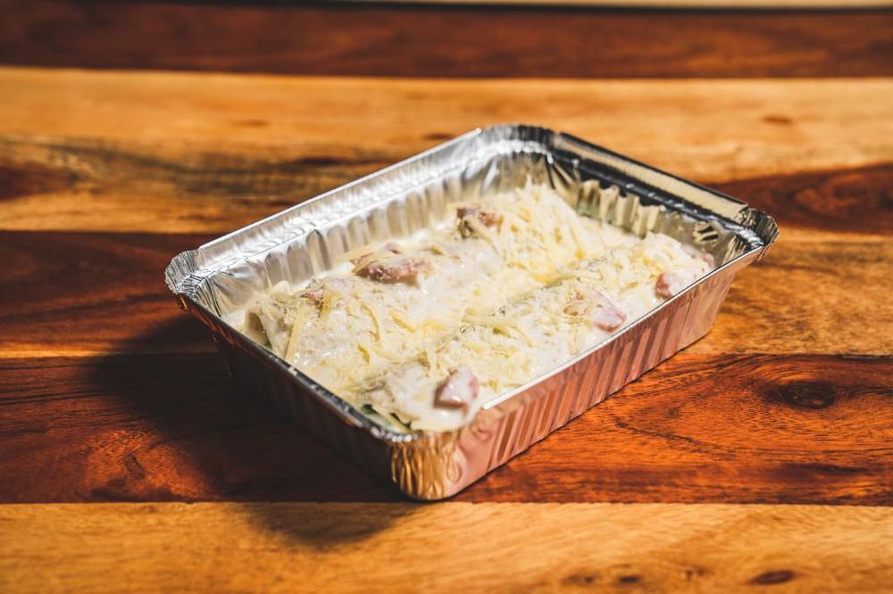Canelón pollo espinaca Para dos (900 gr)