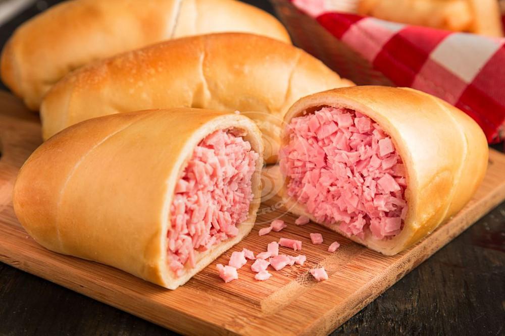 Ham Filled Bread 3 ct