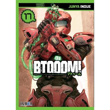 Btooom 17 18 x 13.2 x 1.8 cm. 196 páginas