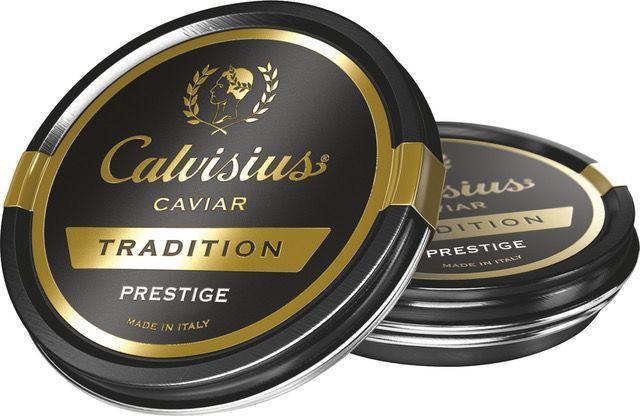 Tradition prestige caviar