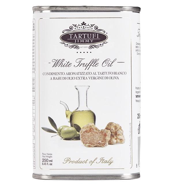White truffle extra virgin oil tin