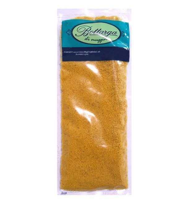 Grated bottarga di muggine (dried mullet roe)