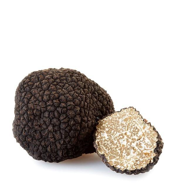 Fresh italian summer truffles (tuber aestivum vitt)