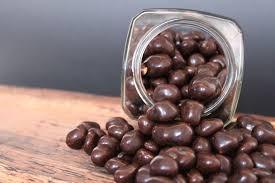 Mani con chocolate