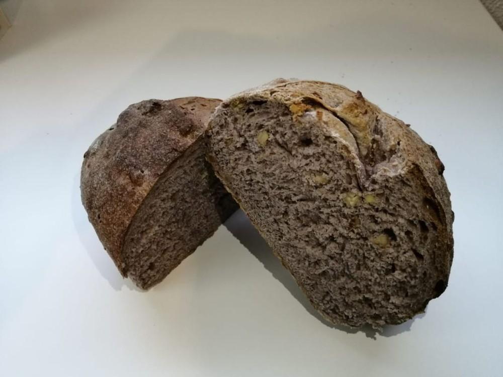 Pan de campo nuez