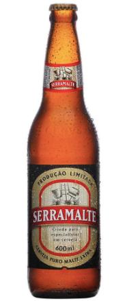 Cerveja serramalte Garrafa de 600 ml