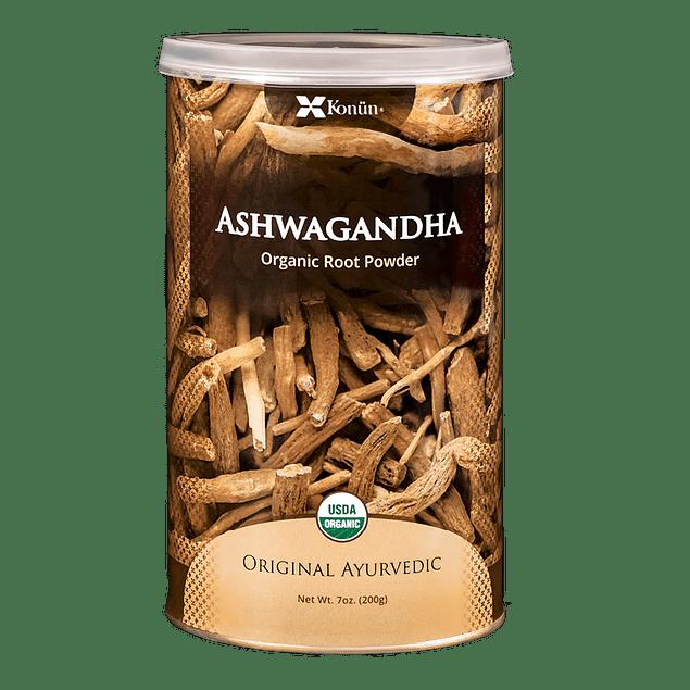 Ashwagandha 200gr polvo orgánico sin gluten