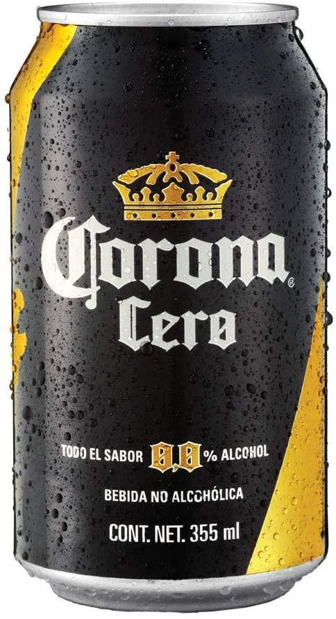 Cerveza clara cero sin alcohol