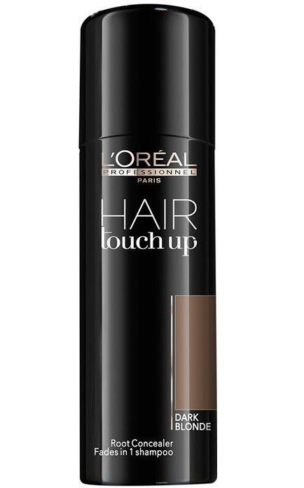Hair touch dark blonde