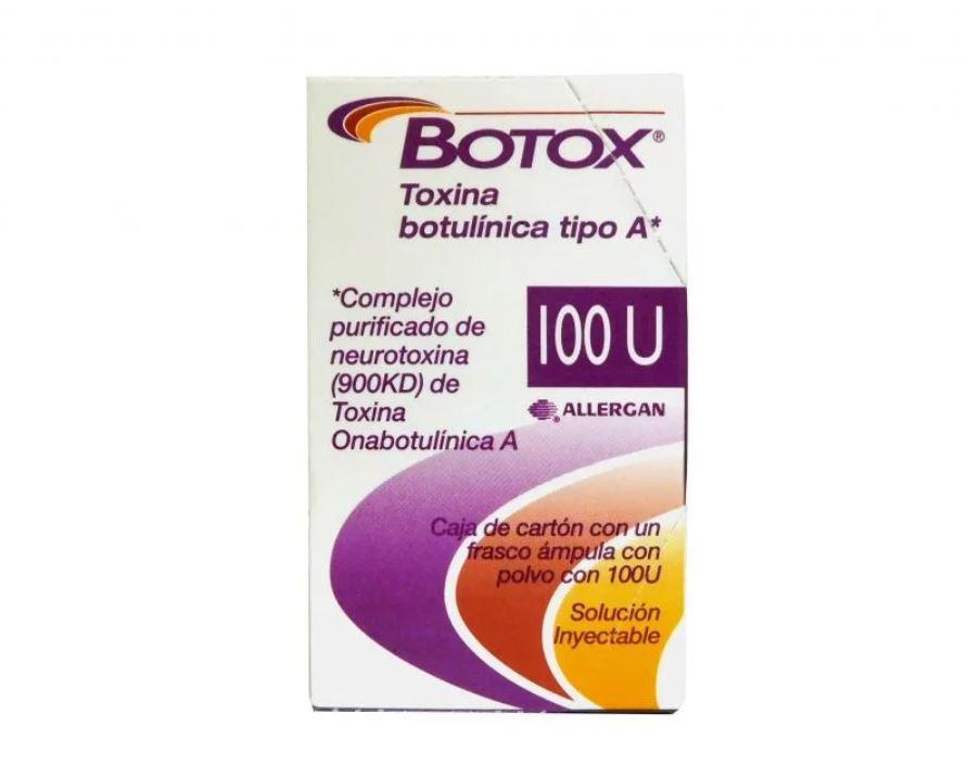 Botox solución inyectable 100U