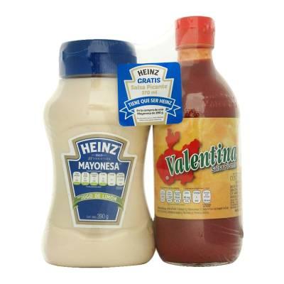 Mayonesa Heinz con jugo de limón 390 g