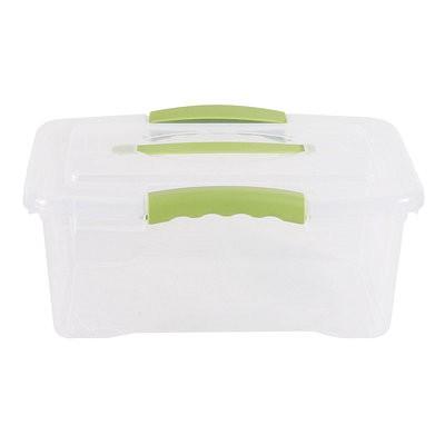 Caja Organizadora 6 Litros Wenbox Transparente 1 Caja organizadora