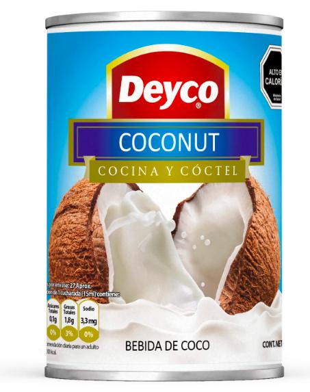 Bebida de coco Lata 400 ml