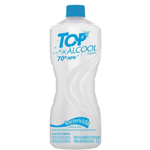 Álcool bactericida 70º INPM 1l