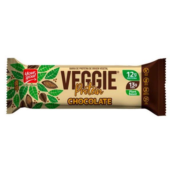 Barra de proteina veggie chocolate