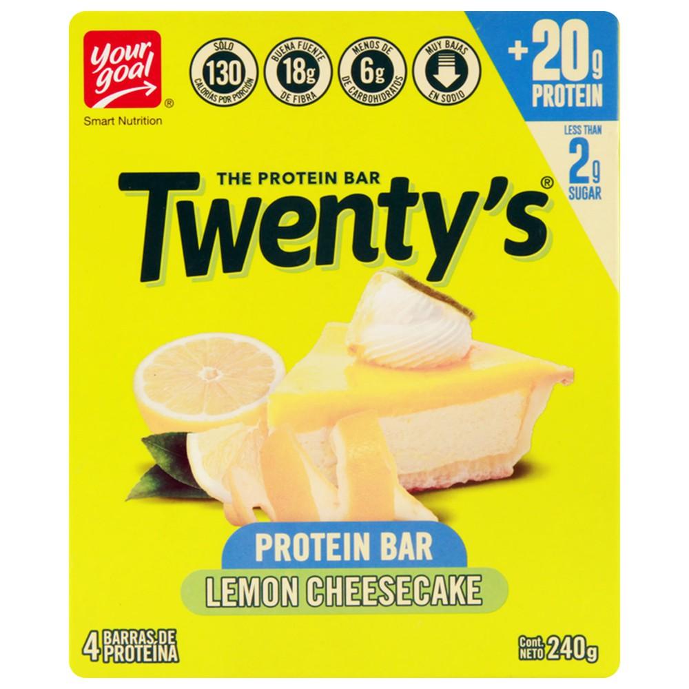 Barra twenty's lemon cheescake