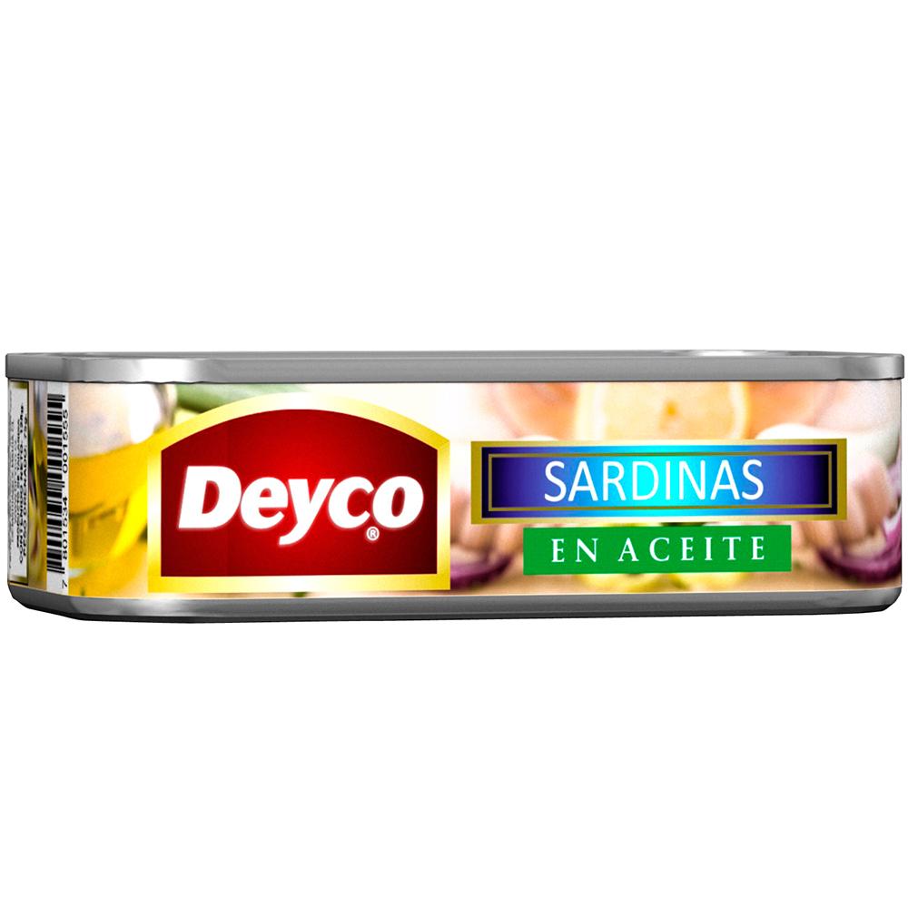 Sardinas en aceite Lata 125 g