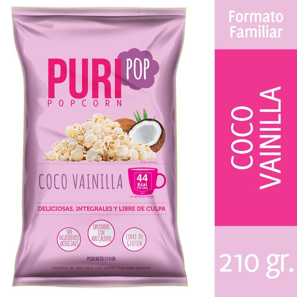 Popcorn coco vainilla