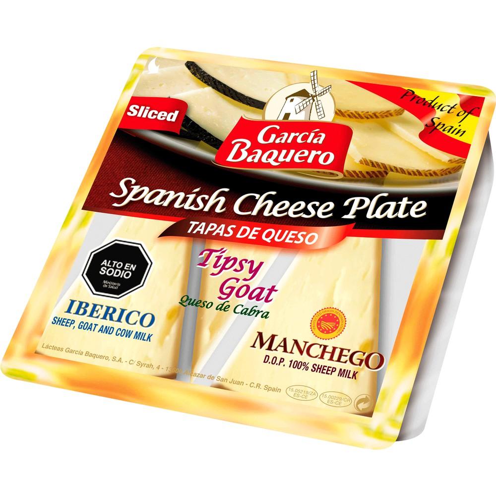 Tabla de tres quesos tierno semicurado y curado 150 g