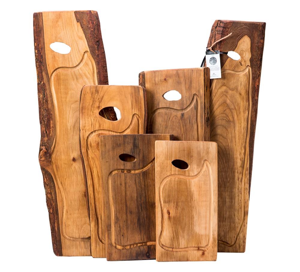 Tabla de madera 70 cm