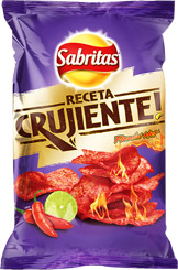 Papas receta crujiente flamin' hot