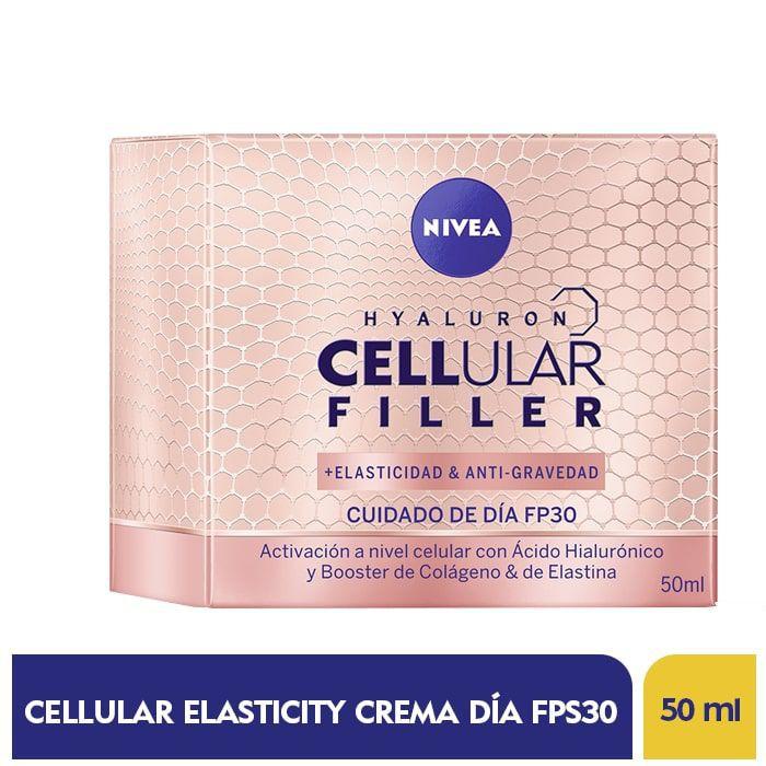 Crema facial día cellular elasticity FPS 30