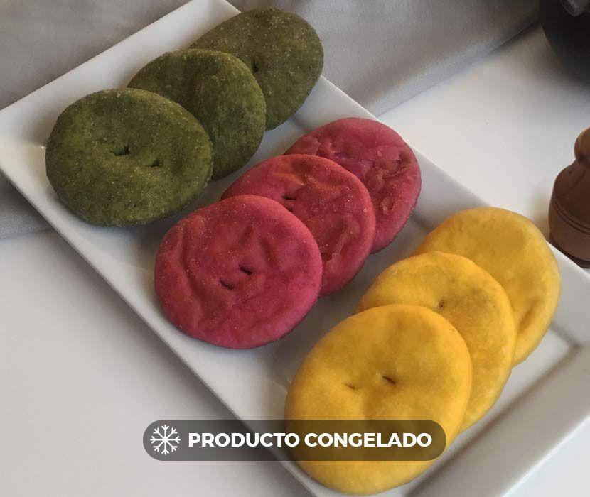 Sopaipilla mix (producto congelado) 15 unids.