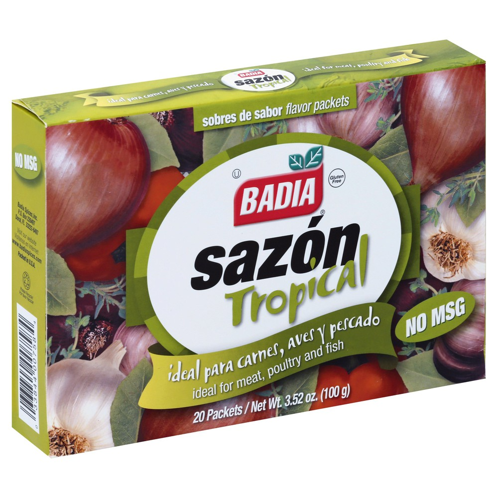 Sazon Tropical Flavor Packets 20 ct