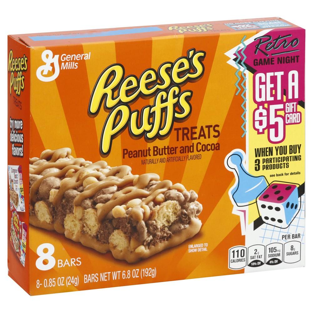 Peanut Butter and Cocoa Treats 8 x 0.9 oz