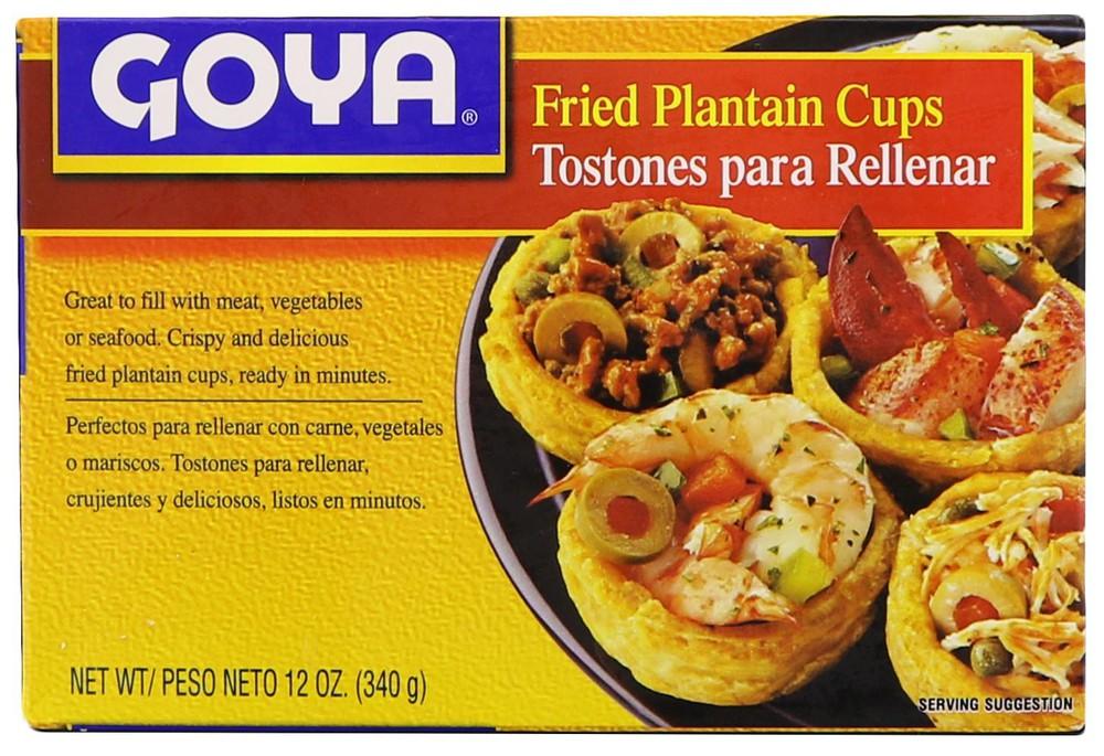 Tostones para Rellenar / Fried Plantain Cups
