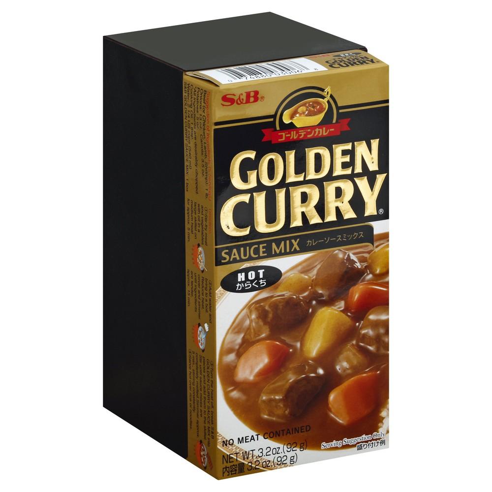 Hot Golden Curry Sauce