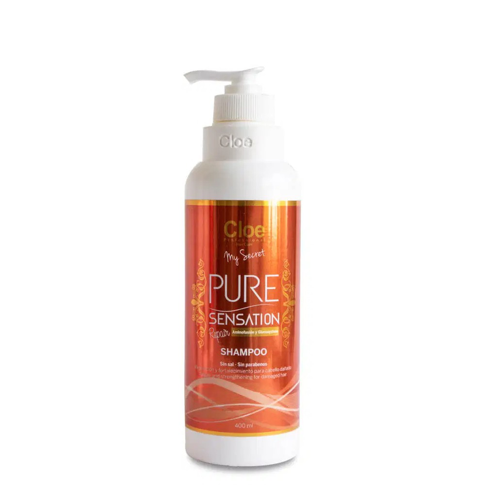 Shampoo pure sensation repair (400ml) Envase de 400ml