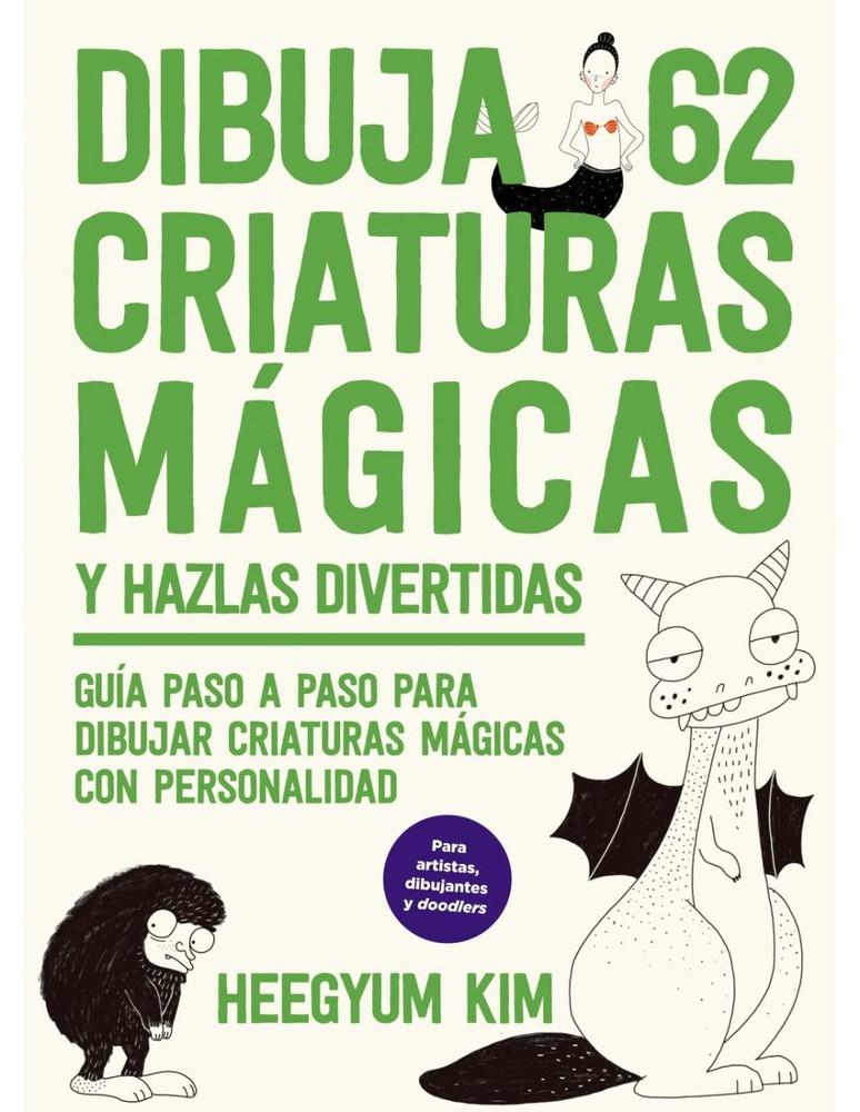 Dibuja 62 criaturas mágicas y hazlas divertidas