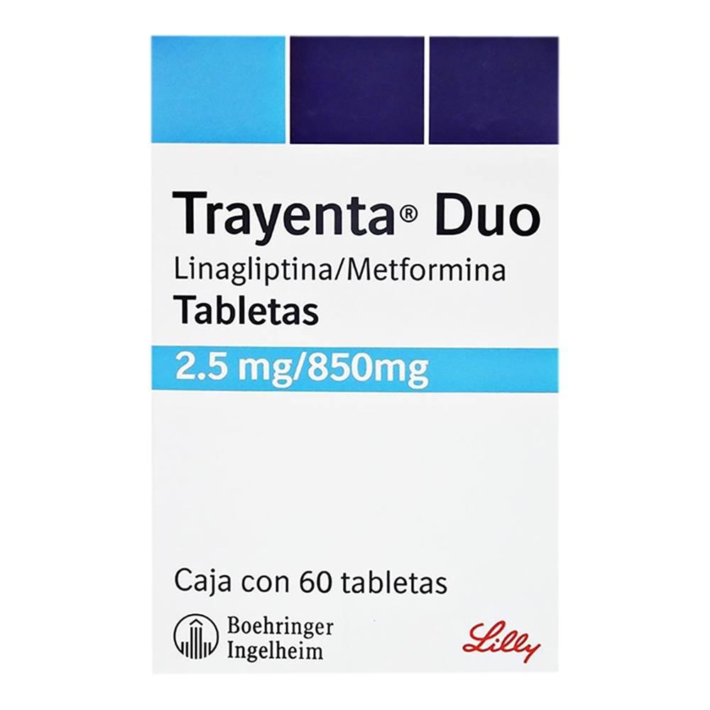 Trayenta duo 2.5/850 mg