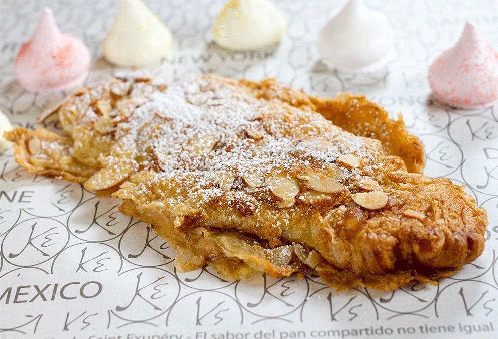 Croissant almendra 1 und