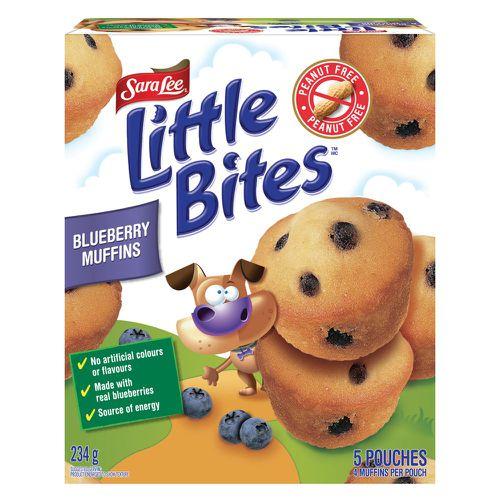 Little bites™ blueberry muffins
