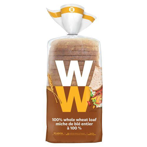 Whole wheat loaf bread 100%