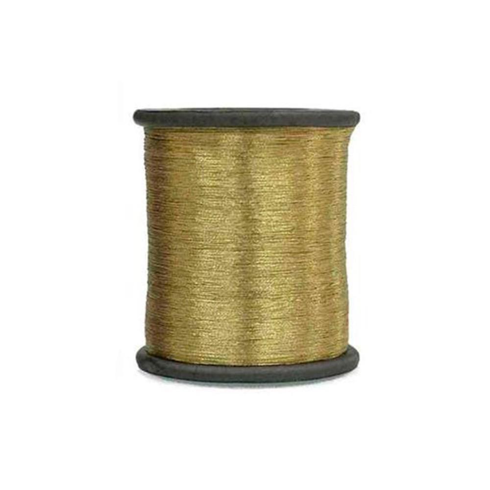 Hilo zari 0.1mm oro claro Presentación en bobina de 1000mts